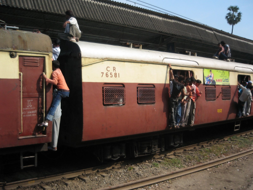 Mumbai local train contest